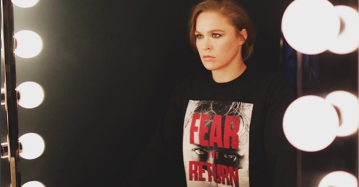 UFC's Ronda Rousey Releases New Statement To Her Fans… Just Her Fans