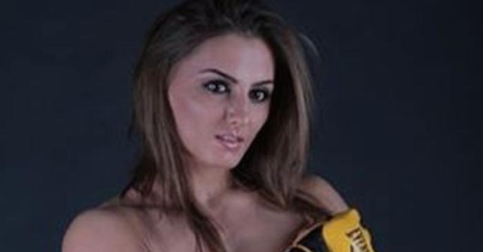 UFC Female Poses Topless In New Photo