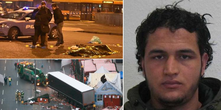 Tunisian suspected of killing 12 at Christmas market shot dead in Milan