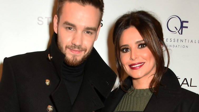 Cheryl and Liam Payne mark their first Christmas together with festive elf selfie