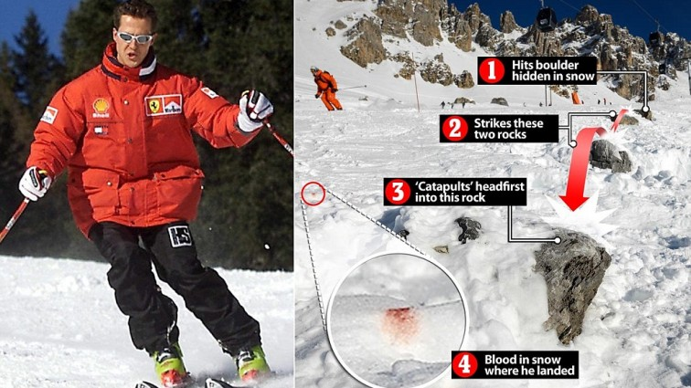The day of Michael Schumacher's skiing accident: Oh! God! How we could missed that?