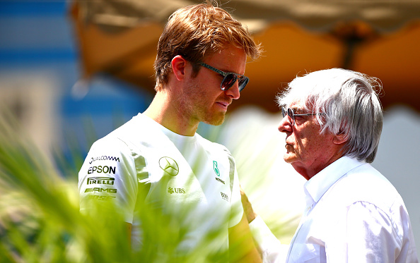 Bernie Ecclestone has publicly demeaned Nico Rosberg. How he could say that?