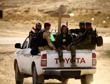 Christian militia taking on Isis: 'They burned our churches, desecrated our monasteries'