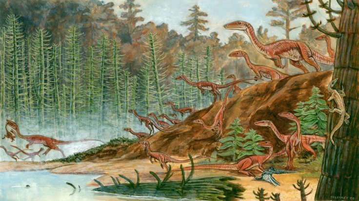 Dinosaurs may have survived extinction events by having a huge range of body sizes