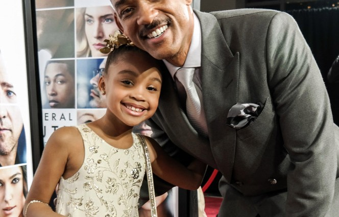 This 7-year-old is living her dream as Will Smith's 'daughter'
