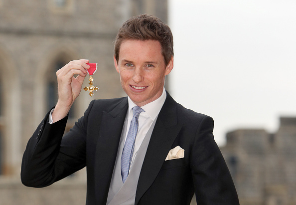 Eddie Redmayne awarded OBE for services to drama