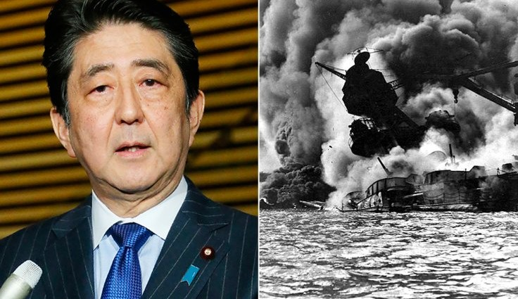 Japanese PM in historic visit to Pearl Harbor 75 years after 'day of infamy'