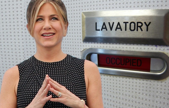 Is Jennifer Aniston a platinum member of the mile-high club?