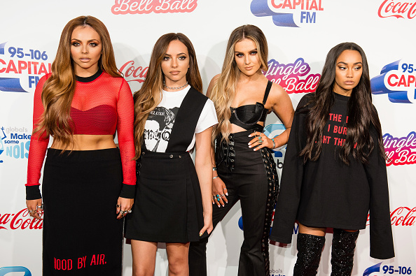 Little Mix put breakups behind them as Shawn Mendes bonds with James Arthur at Jingle Bell Ball
