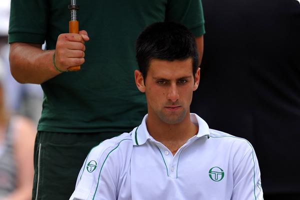 Sad day for Novak Djokovic Fans