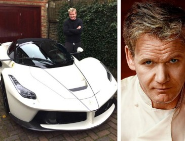 Chef Gordon Ramsay must plate up £1.6m supercar or fine is on the menu