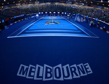 Things are heating up at the Australian Open in Melbourne
