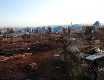 Car bomb kills 4 in refugee camp in Syria