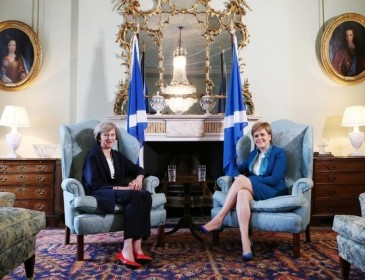 Scotland locks horns with British PM over Brexit