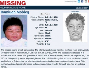 Baby kidnapped from Florida hospital found safe 18 years on