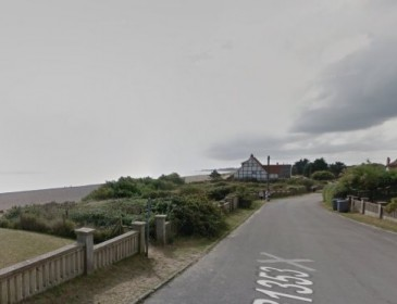 Man dies as part of Thorpeness cliff collapses onto beach