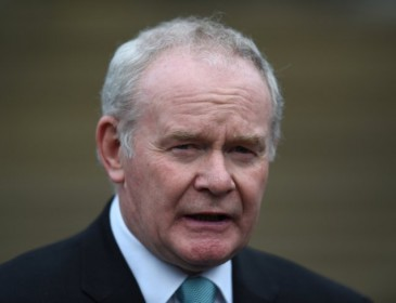 Martin McGuinness quits as Northern Ireland's deputy first minister