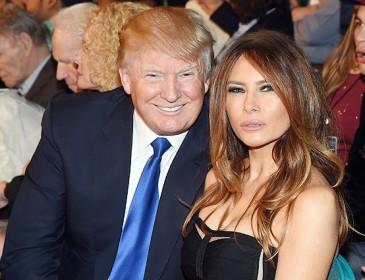 Меланья Трамп оставила мужа и уехала из США
