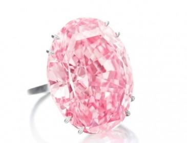 Сколько на самом деле стоит этот редкий розовый бриллиант?