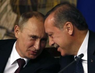 Путин заявил, что очень доволен отношениями России с Турцией