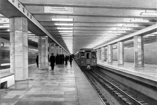 В московском метро сложилась критическая ситуация