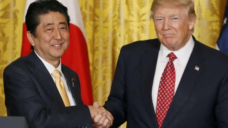 Премьер Японии рассказал о гостайне после встречи с Трампом