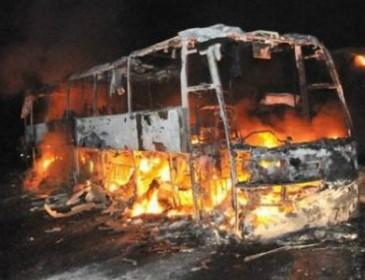 В Сирии взорвался автобус, набитый пассажирами