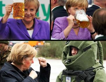 Меркель призвала Европу взять судьбу в свои руки