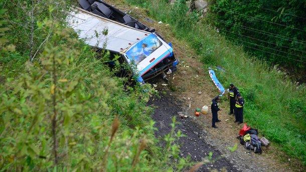 СРОЧНО! Автобус упал в ущелье! Десятки погибших: По слухам убиты из религиозной секты!