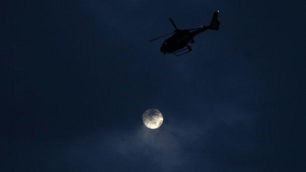 В Алжире разбился военный вертолет