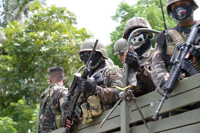Армия Филиппин начала зачистку города от боевиков ИГИЛ