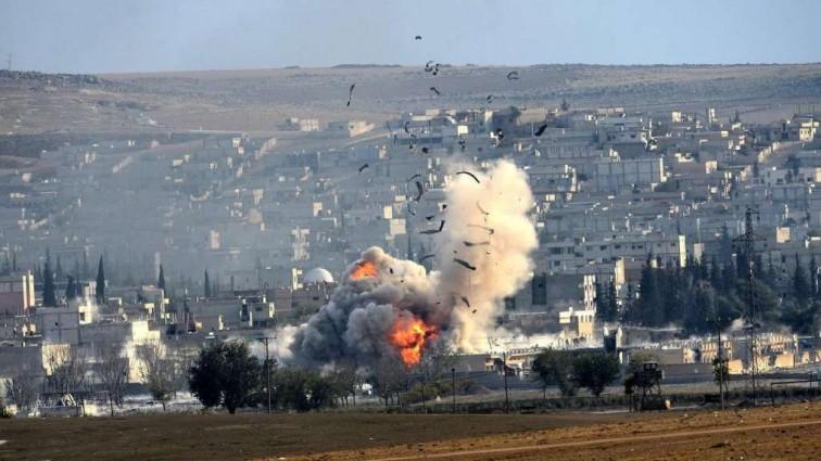 Коалиция во главе с США нанесла удар по Сирии