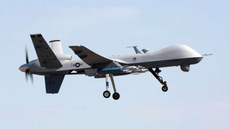 Британский боевой «Жнец» прервал публичную казнь ИГИЛ