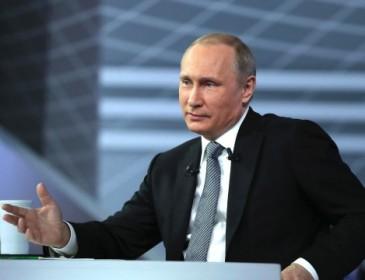 Какие вопросы чаще всего задают Путину?