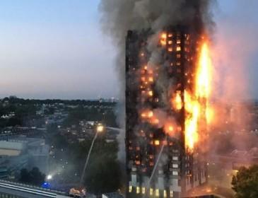 В Скотланд-Ярде назвали причину пожара в многоэтажке Лондона