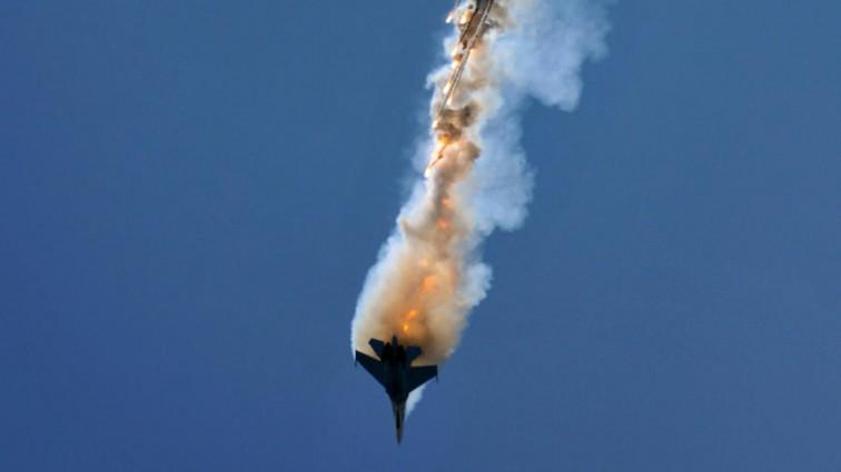 В Сирии произошла страшная авиакатастрофа