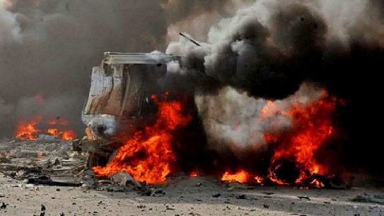 Ужасный теракт! Женщины-смертницы подорвали себя около мечети. Много жертв!