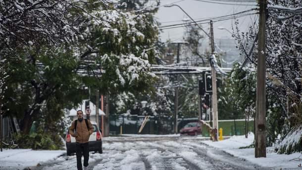 Латинскую Америку накрыли аномальные холода со снегом и морозами
