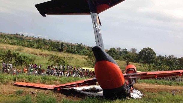 Крушение украинского самолета в Африке: стали известны ужасающие подробности