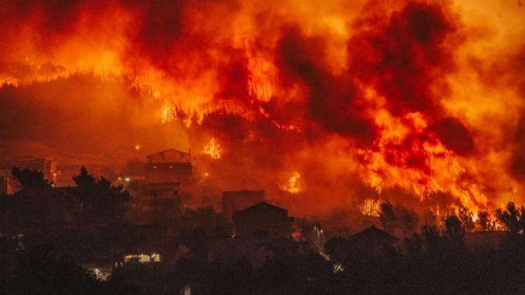 Хорватия в огне: Новые фото охваченной пожаром жемчужины Балкан. Реальные фото!!
