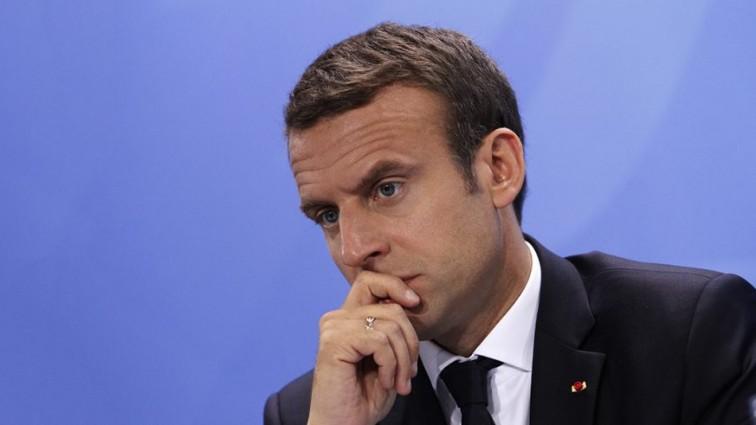 «Марионетка?» : Во Франции стремительно падает доверие к Макрону