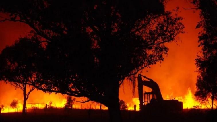 Пожар на крупнейшем фестивале Европы: видео масштабного происшествия