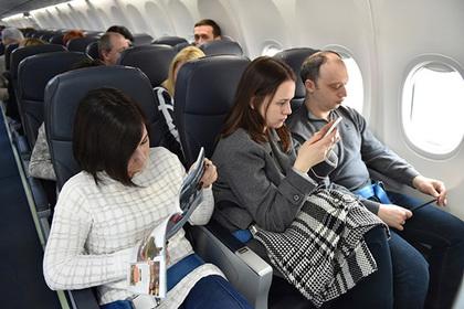 Внимание: В России новые правила в салонах самолетов