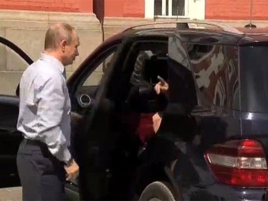 Священник раскрыл личность «тайной спутницы» в машине Путина