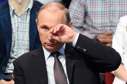 Путин уснул при просмотре фильма о себе