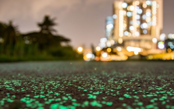 Светящаяся тропа в Сингапуре: Просто удивительные фото! Не ...