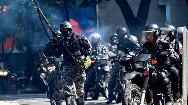 В Венесуэле военные объявили о восстании