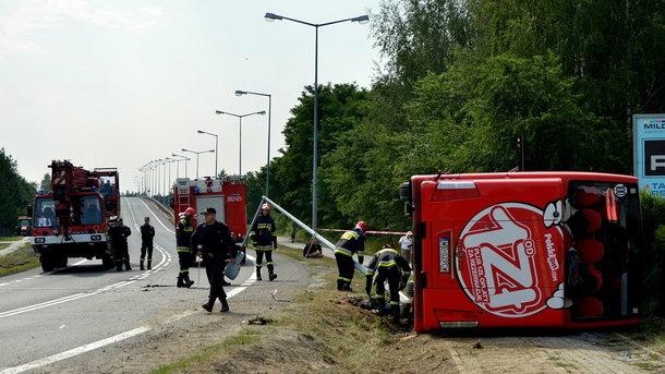 Срочно! Жуткое ДТП в Польше: ранены 28 человек, семь – в тяжелом состоянии