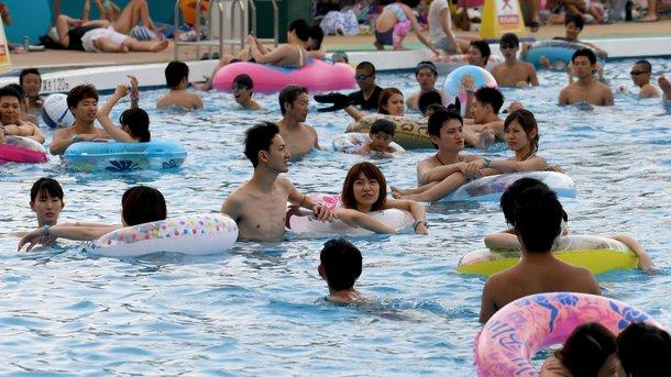 Адская жара в Японии: восемь жертв, тысячи пострадавших