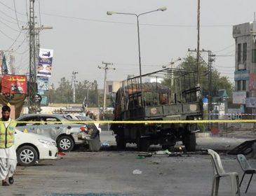 В Пакистане прогремел мощный взрыв, погибли военные